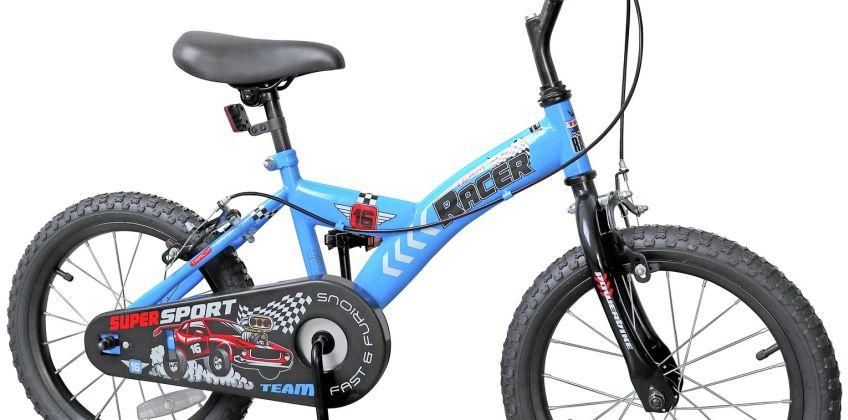 16 Inch Racing Cars Kid's Bike from Argos