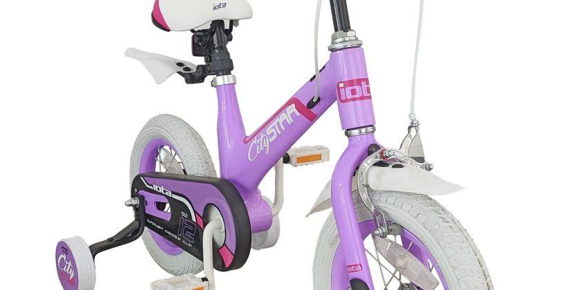 Iota City Star 12 inch Wheel Size Alloy Kid's Bike from Argos