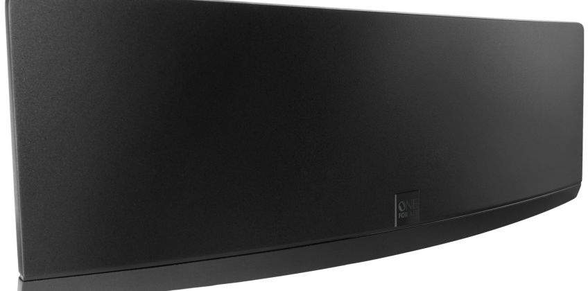 One For All SV9430 Curved Amplified Indoor TV Aerial from Argos