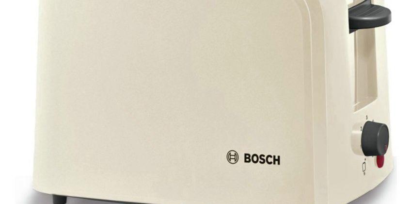 Bosch TAT3A0175G Village 2 Slice Toaster - Cream from Argos