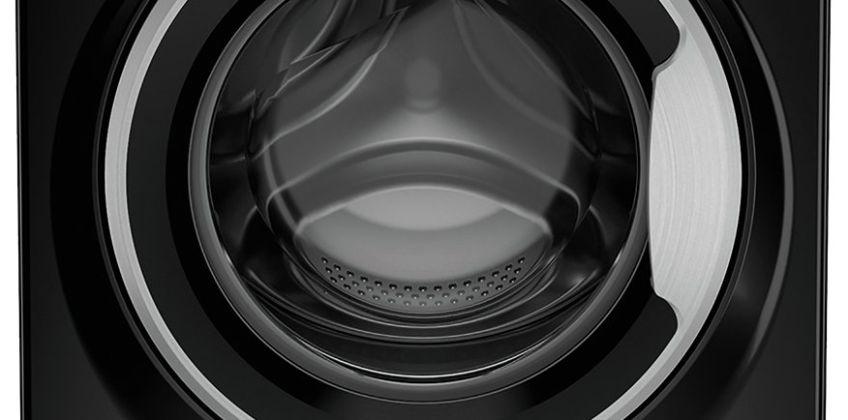 Hotpoint NSWM863CBS 8KG 1600 Spin Washing Machine - Black from Argos
