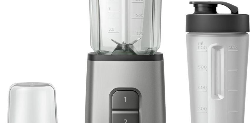 Philips HR2605/81 Daily Mini Blender - Stainless Steel from Argos