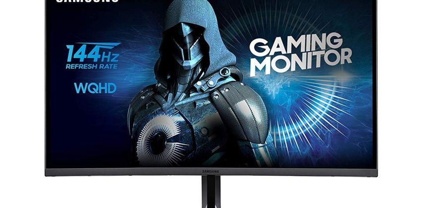Samsung CJG5 27 Inch 144Hz QHD Curved Gaming Monitor from Argos