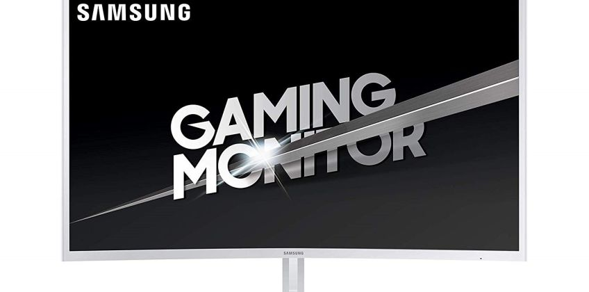 Samsung CJG5F 32 Inch 144GHz FHD Curved Gaming Monitor from Argos