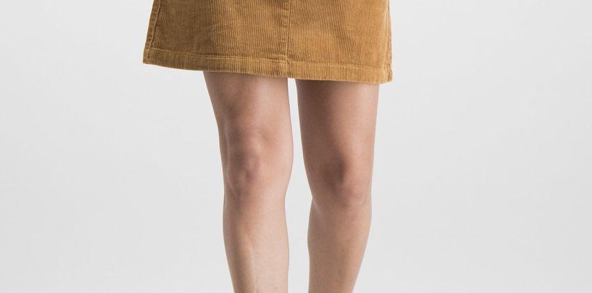Tan Cord Mini Skirt from Argos