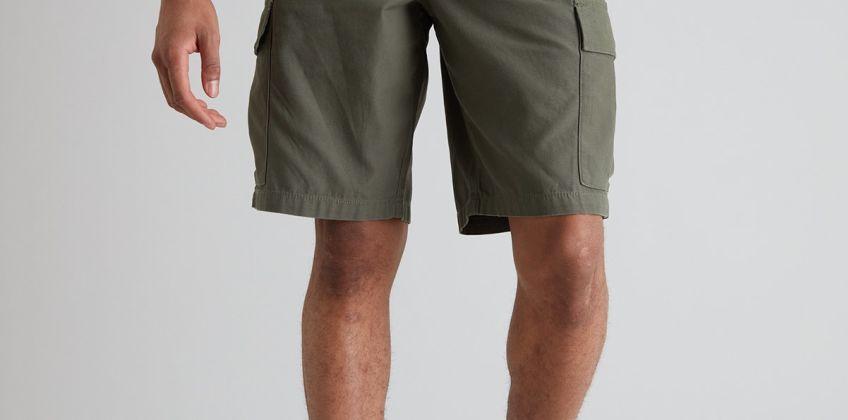 Khaki Pull On Cargo Shorts from Argos