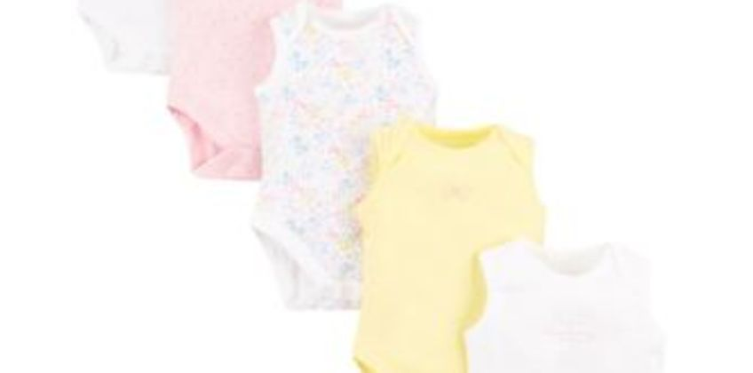 summer floral bodysuits from Mothercare