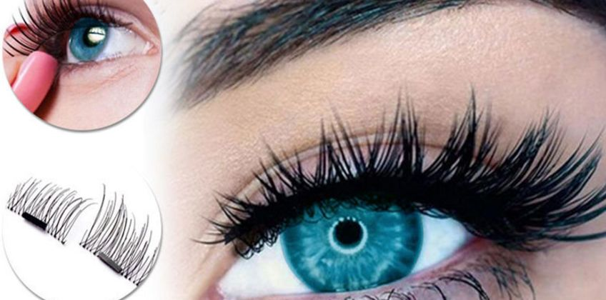 £3.99 instead of £9.99 for a set of magnetic false eyelashes from Forever Cosmetics - save 60% from Wowcher