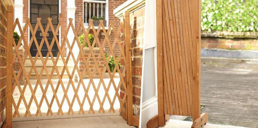 Save on garden privacy with our deal for an expanding wooden fence! from Wowcher
