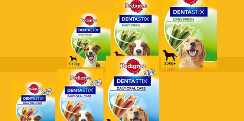 From £7.99 instead of £17.89 (from Trojan Electronics) for a pack of Pedigree DentaStix chews –save up to 55%  from Wowcher