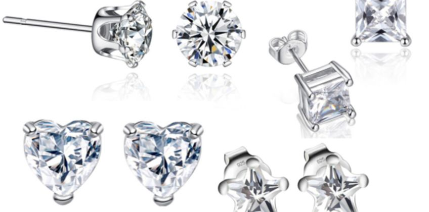 £2.99 for a pair of stud earrings available in four designs from Solo Act Ltd from Wowcher