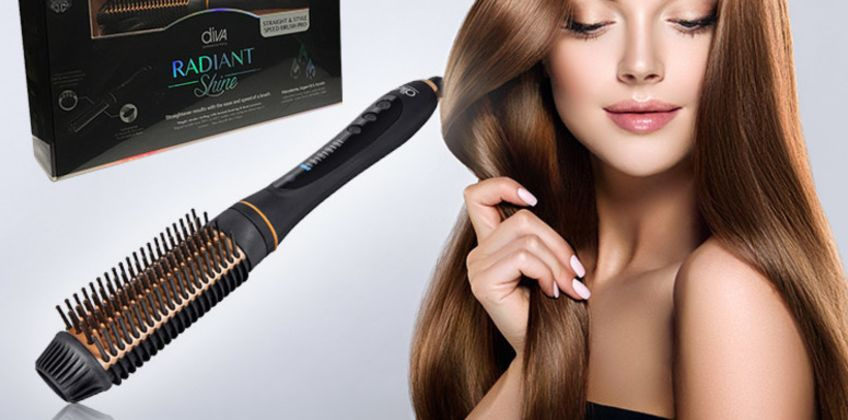 £21.99 instead of £63.99 (from Essential Buy) for a Diva Pro styling brush - save 64% from Wowcher
