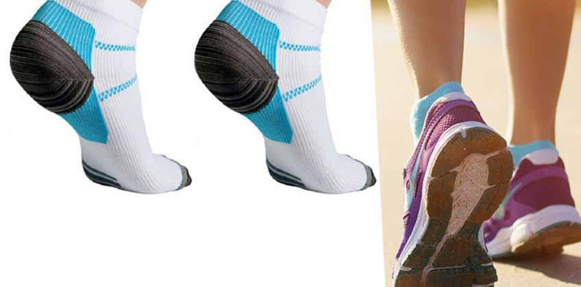 £3.99 instead of £13 (from Forever Cosmetics) for a pair of planter fasciitis socks - save 69% from Wowcher