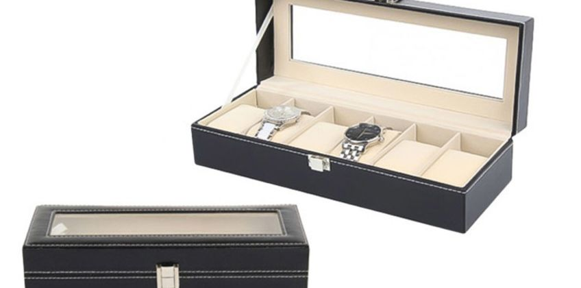 £12 instead of £39.99 (from Blu Fish) for faux leather watch box - save 70% from Wowcher