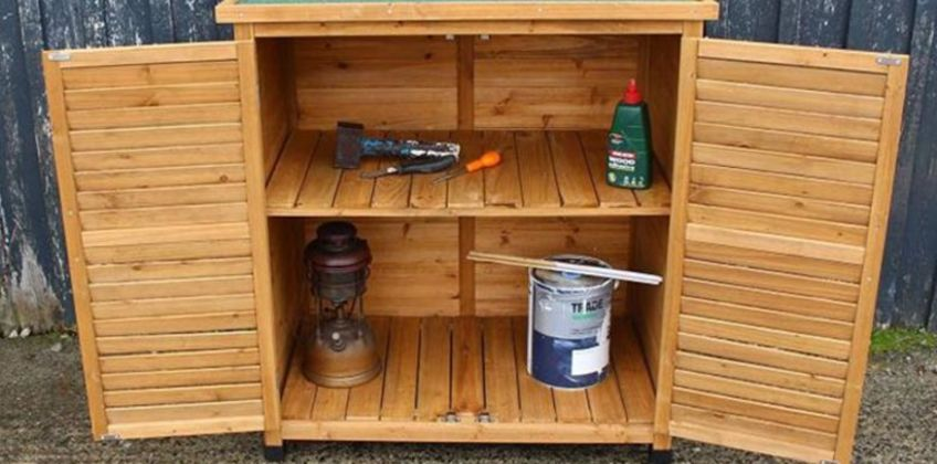 £87 instead of £189.99 (from Garden & Camping) for a small wooden storage shed - save 54% from Wowcher