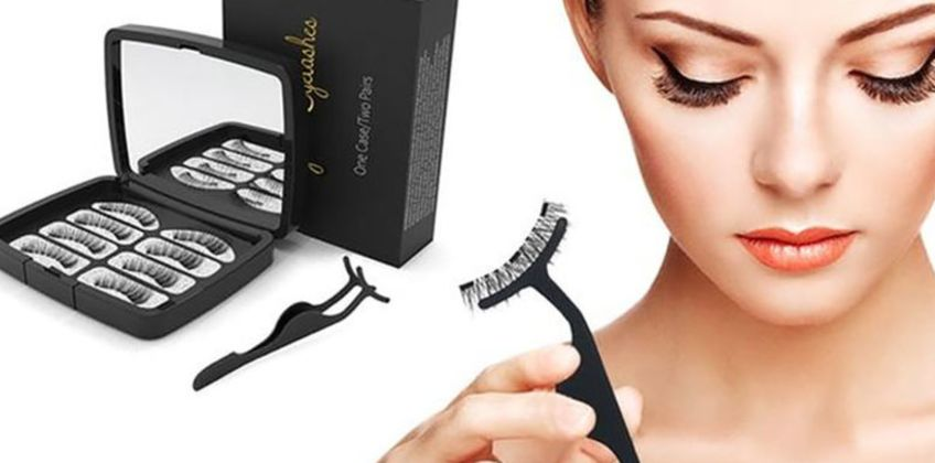£8.98 instead of £19.99 (from Avant Garde) for four pairs of magnetic eyelashes with a mirror case – save 55%  from Wowcher