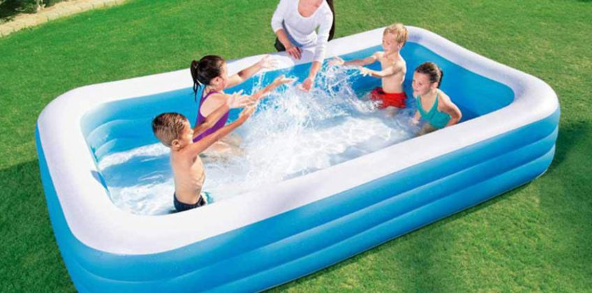 £14.99 instead of £43 (from Direct2Publik) for a small Bestway rectangular swimming pool or £17.99 for a medium pool - save up to 65% from Wowcher