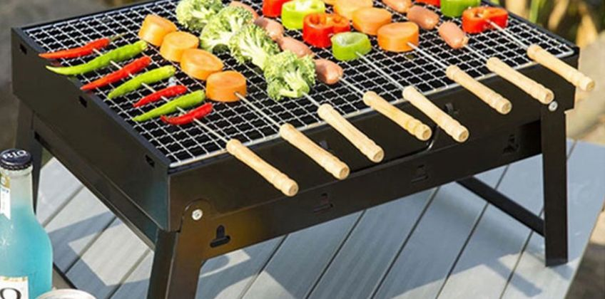 £12.99 instead of £39.99 (from Fusion Online) for a portable foldable barbeque - save 68% from Wowcher