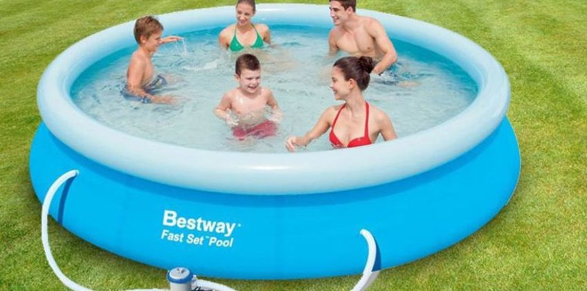 From £39.99 instead of £100 (from Games & Fitness) for an 8ft Bestway above ground swimming pool set - save up to 60% from Wowcher