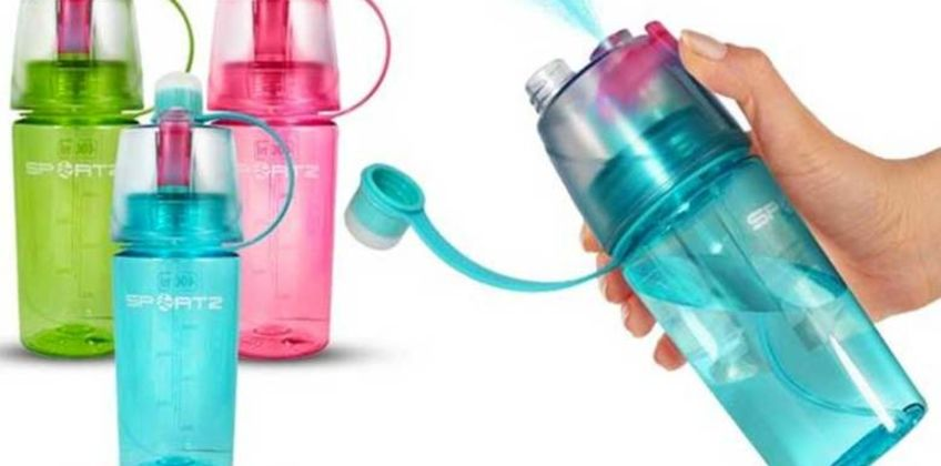 £5.99 instead of £9.99 (from Avant Garde) for a SportZ water bottle –choose from three colours and save 40%  from Wowcher