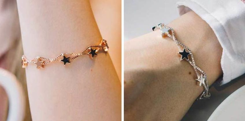 £5.99 instead of £14 (from Philip Jones) for a star bracelet - choose from 2 colours and save 57% from Wowcher