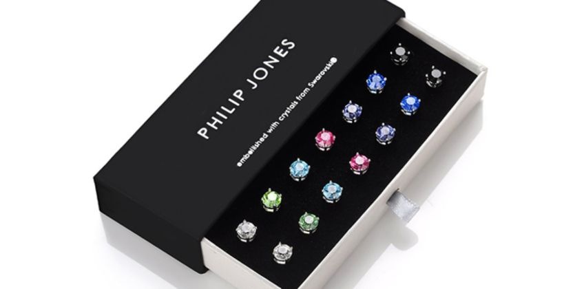 £14.99 instead of £33.99 for seven pairs of Philip Jones earrings made with crystals from Swarovski® from Silver Supermarket Ltd - save 56% from Wowcher