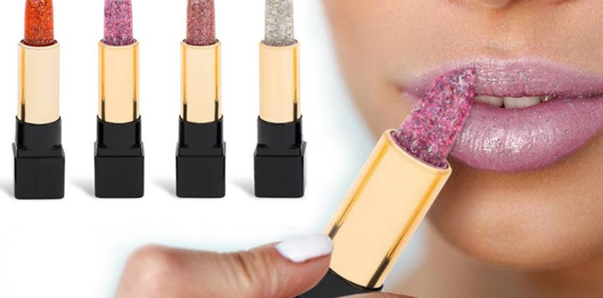 £1.50 instead of £15.99 (from Avant Garde) for a glitter colour-changing lipstick –save 91%  from Wowcher