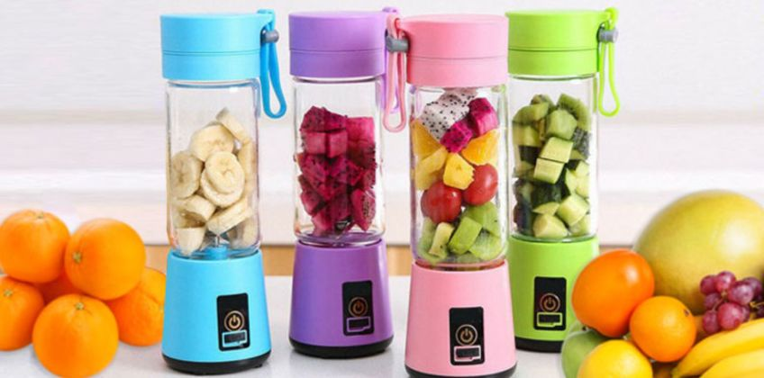 £9.99 instead of £29.99 (from Wow What Who) for a 4-blade portable blender - choose from 4 colours & save 67% from Wowcher