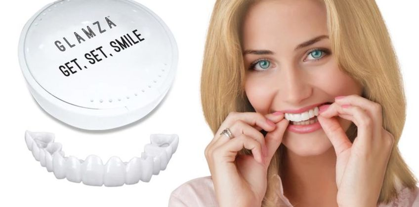 £3.99 instead of £13 (from Glamza) for a set of snap-on smile veneers, £6.99 for a set of two, or £9.99 for a set of three - save 54% from Wowcher