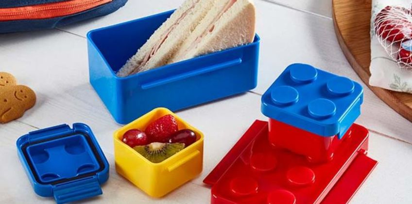 £8.99 instead of £24.99 (from CJ Offers) for a Cooks Professional brick lunchbox set - save 64% from Wowcher