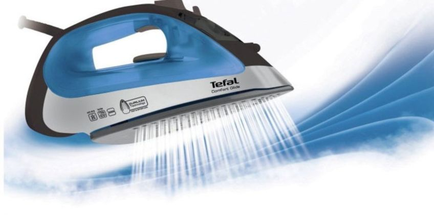 £29.99 (from Elite Housewares) for a Tefal Comfort Glide ergonomic steam iron! from Wowcher