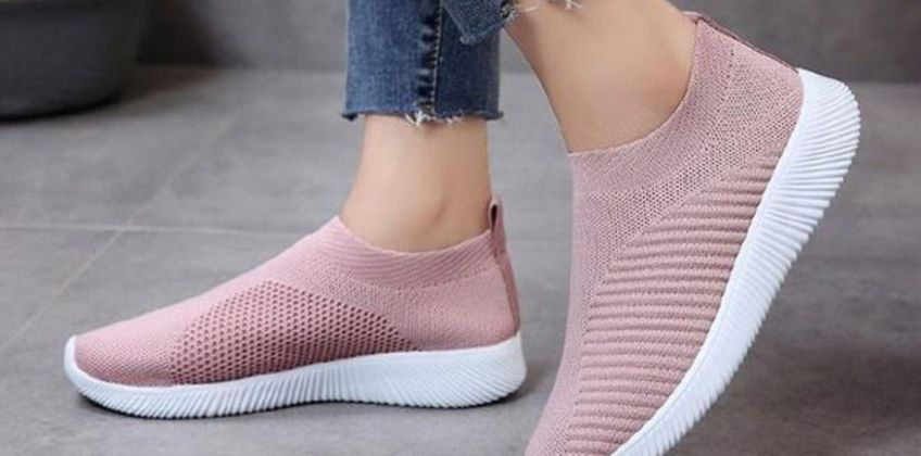 £8.99 instead of £39.99 (from DomoSecret) for a pair of breathable knitted trainers – choose from four colours and save 70% from Wowcher