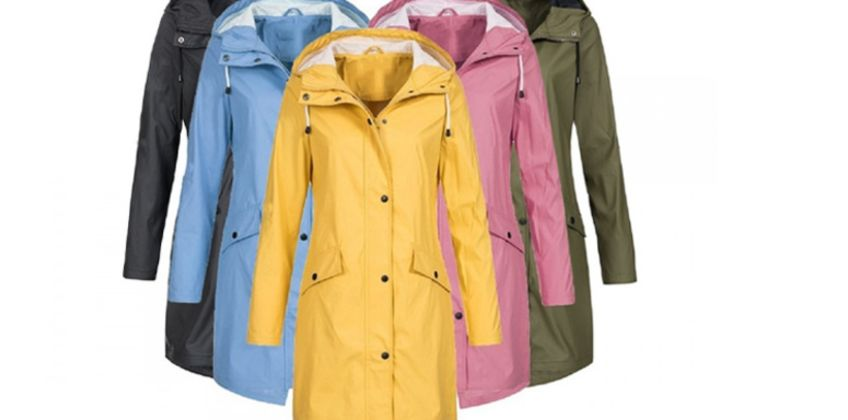 £16 instead of £59.99 (from My Blu Fish) for a waterproof raincoat – choose from five colours and UK sizes 12-18 and save 73% from Wowcher