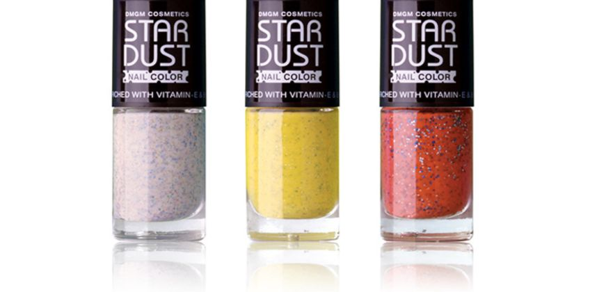 £4.50 (from Max Care Cosmetics) for a pack of three star dust nail polishes  from Wowcher