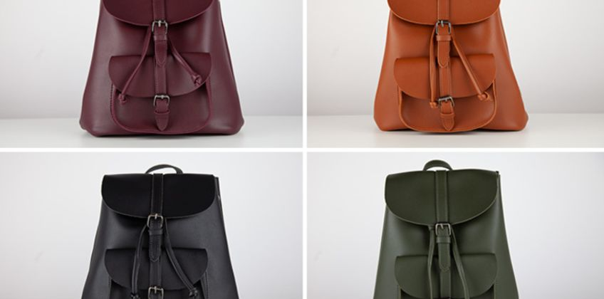 £8.99 instead of £21.98 (from Cascabelle) for a leather-look backpack - save 55%  from Wowcher