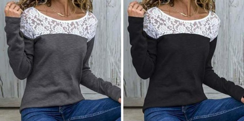 £6.99 instead of £29.99 (from MBLogic) for a round neck lace detail casual top - save 77% from Wowcher