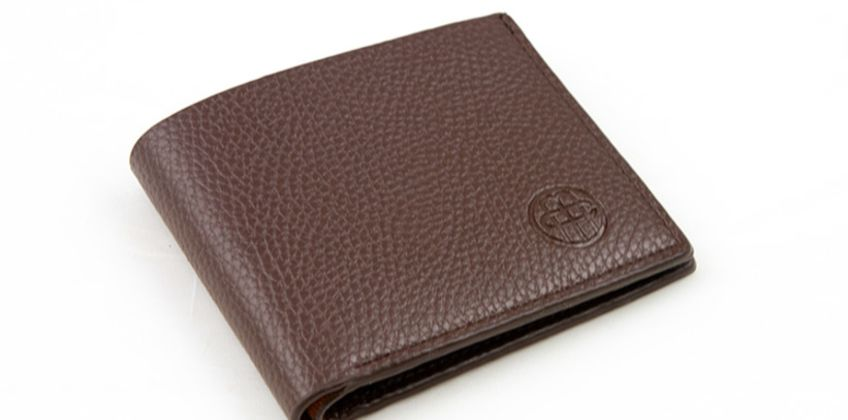 £3.99 instead of £12.99 for a brown faux leather wallet from Men & Co - save 69% from Wowcher