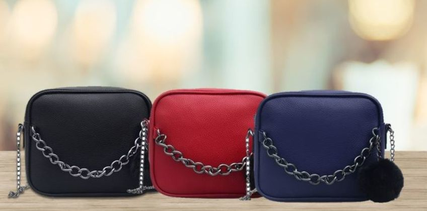 £5.99 instead of £19.99 for a chain messenger shoulder bag from Hey4Beauty's - save 70% from Wowcher