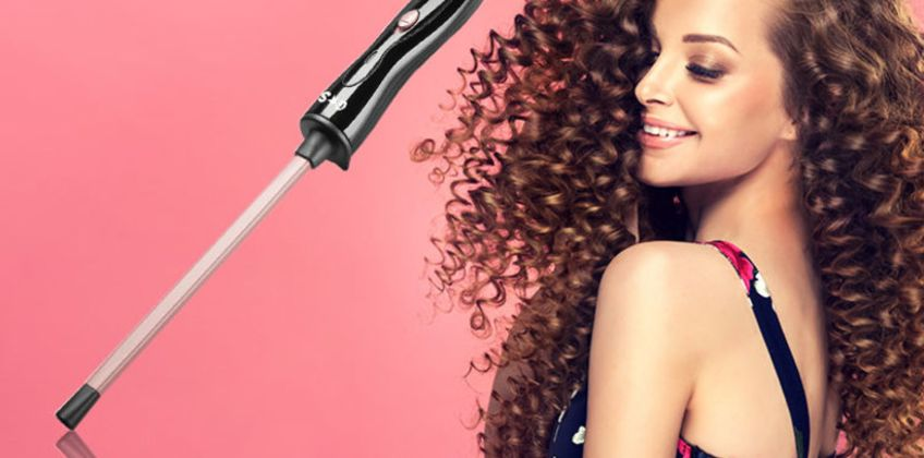 £14.90 instead of £18.49 for a Glam and Style chopstick curling wand - save 19% from Wowcher