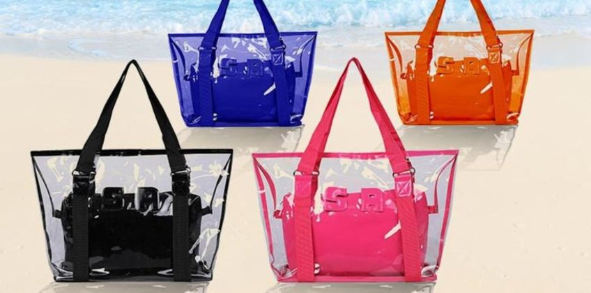 £7.99 instead of £29.99 (from MBLogic) for a transparent beach shoulder bag - save 73% from Wowcher