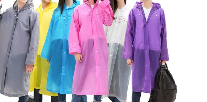 £5 instead of £19.99 for an EVA Hooded Raincoat - 6 Colours to choose from Hey4Beauty - save 75% from Wowcher