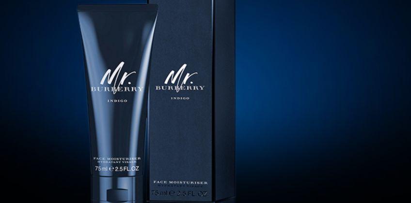 £22.99 for a 75ml bottle of Burberry Mr. Burberry Indigo face moisturiser - save 44% from Wowcher