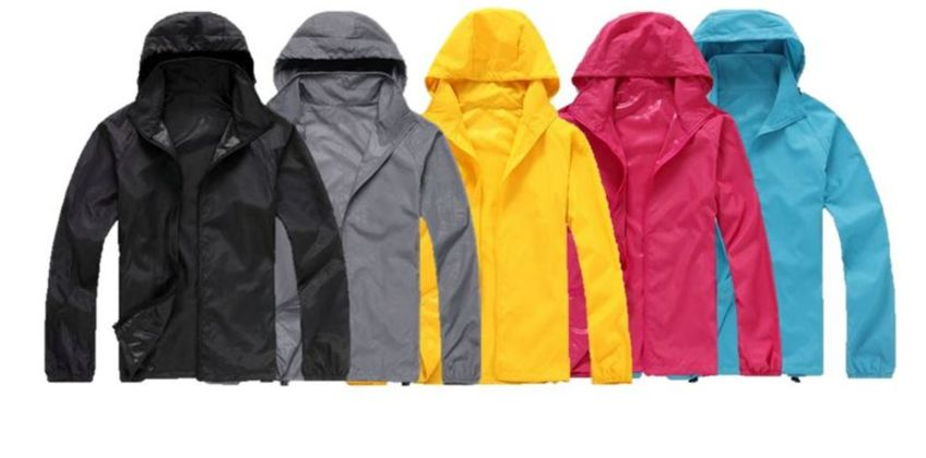£11.99 instead of £29.99 for a Waterproof Oversized Packable Raincoat - 10 Colours to choose from Hey4Beauty - save 60% from Wowcher