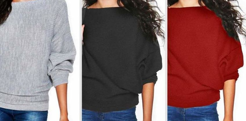 £7.99 instead of £20 (from SpeZzee) for a loose knitted sweater - save 60% from Wowcher