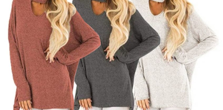 £8.99 instead of £23 (from SpeZ Zee) for a v-neck long sleeve jumper - save 61% from Wowcher