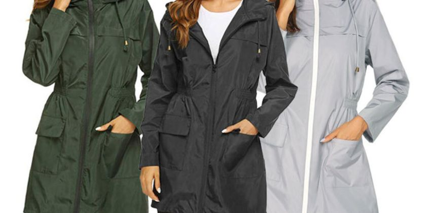 £14.99 instead of £43 (from SpeZzee) for a zip hooded waterproof raincoat - save 65% from Wowcher