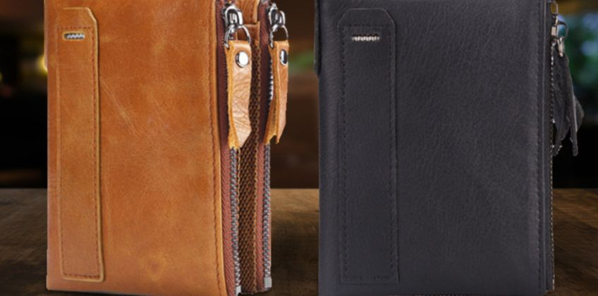 £8.99 instead of £29.90 (from hey4beauty) for a men's RFID leather wallet - save 70% from Wowcher