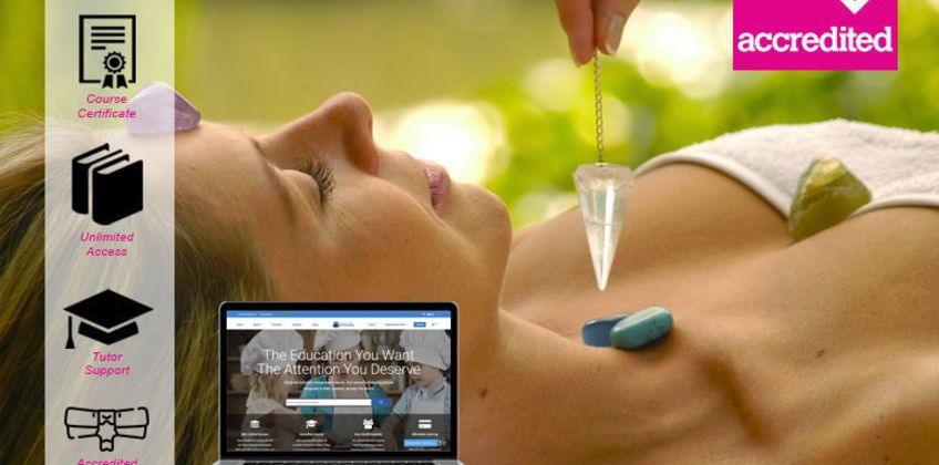 £14 instead of £199 for an online crystal healing course from Harley Oxford - save 93% from Wowcher