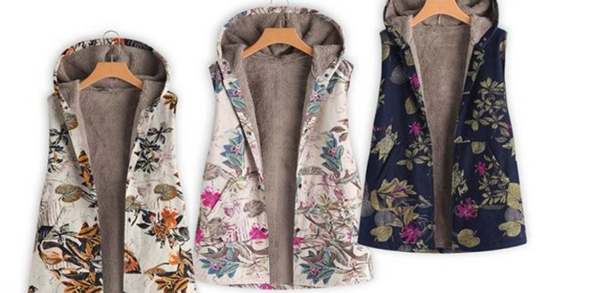 £12 instead of £39.99 (from My Blufish) for a floral gilet - save 70% from Wowcher