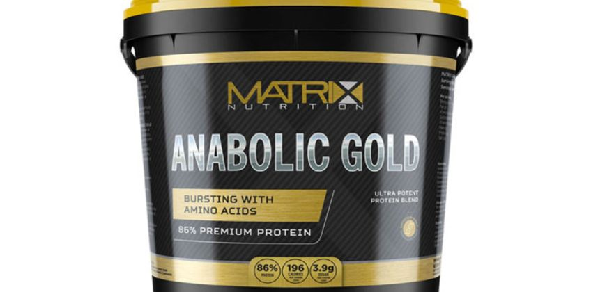 £14.99 (from Matrix) for a 1kg pot of Matrix Nutrition Anabolic Gold protein powder, £22.99 for a 2.25kg pot of protein powder or £36.99 for a 5kg pot of protein powder from Wowcher